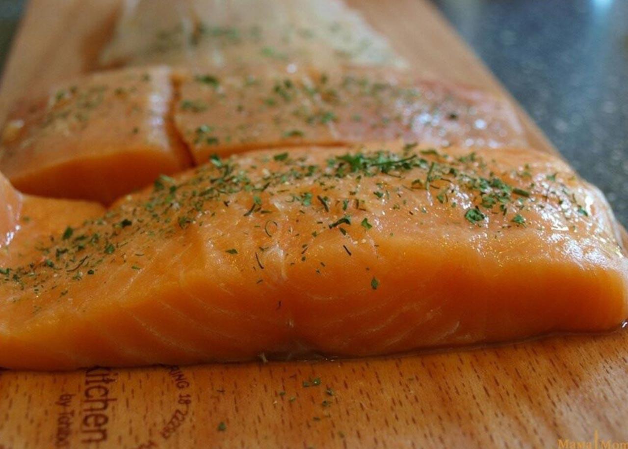 Красная рыба в водке — рецепт